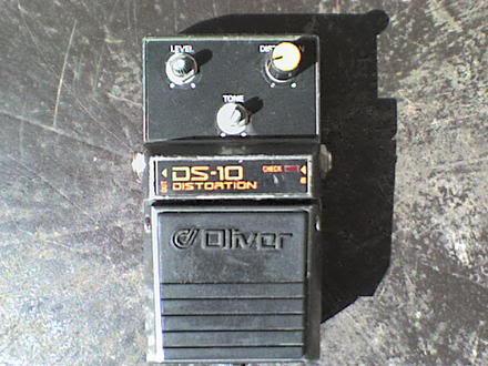 Pedais Oliver DS-10