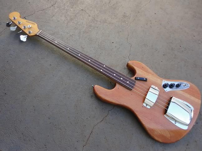 Fretless bass DSC00055