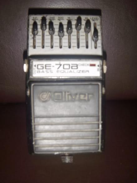 Pedais Oliver GE-70B