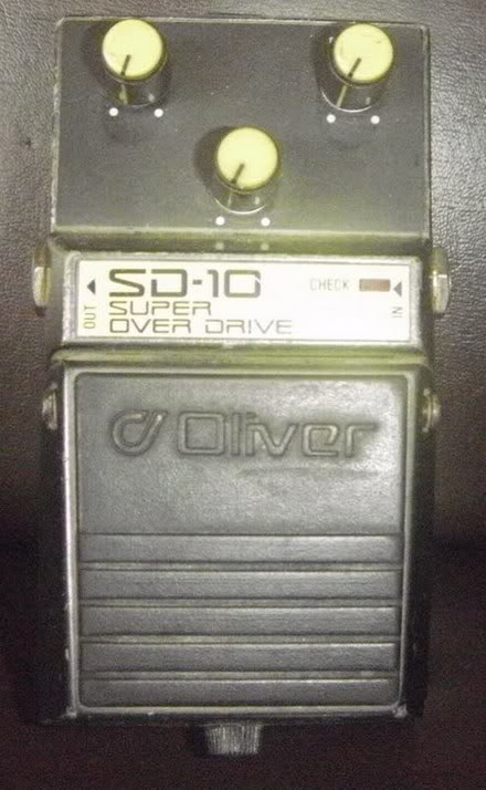 Pedais Oliver SD-10