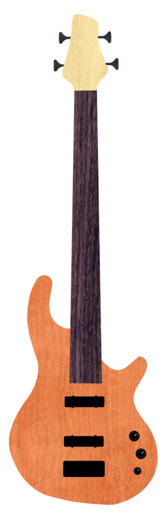 Fretless bass G8171-1