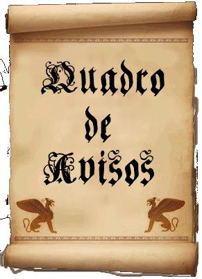 Quadro de Avisos Geral do Ministério da Magia de Belo Horizonte Quadrodeavisos