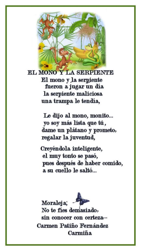 EL MONO Y LA SERPIENTE Elmonoylaserpiente