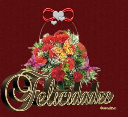 FELIZ CUMPLEAÑOS  QUERIDO MARIANO Claveles