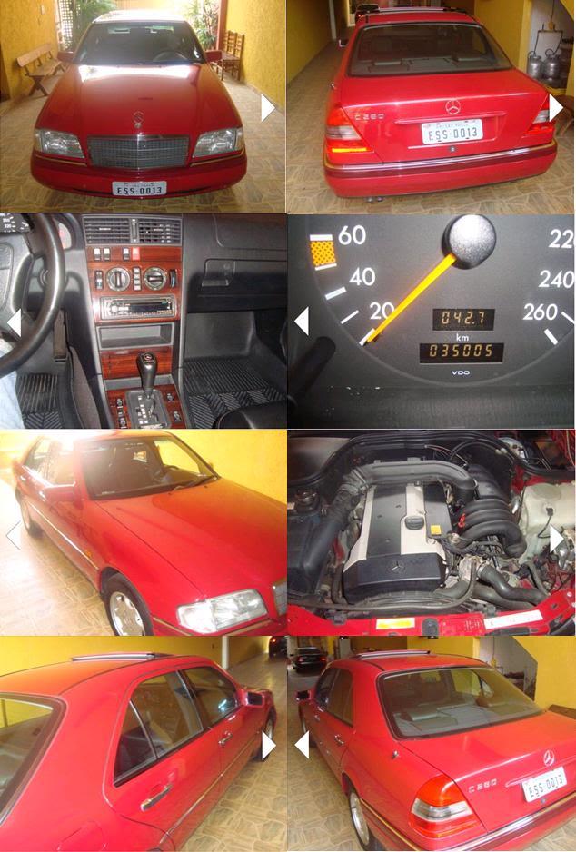 W202 C280 1995, 38mil km, R$ 30.000,00 C280red2