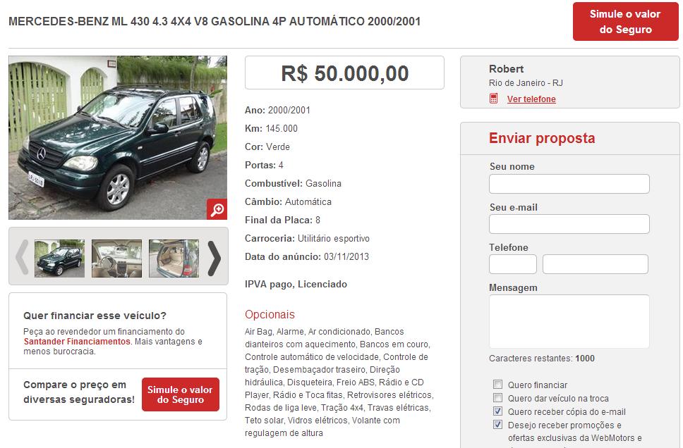 W163 ML430 2000/2001 - R$ 50.000,00 MLWM_zps05d3064f