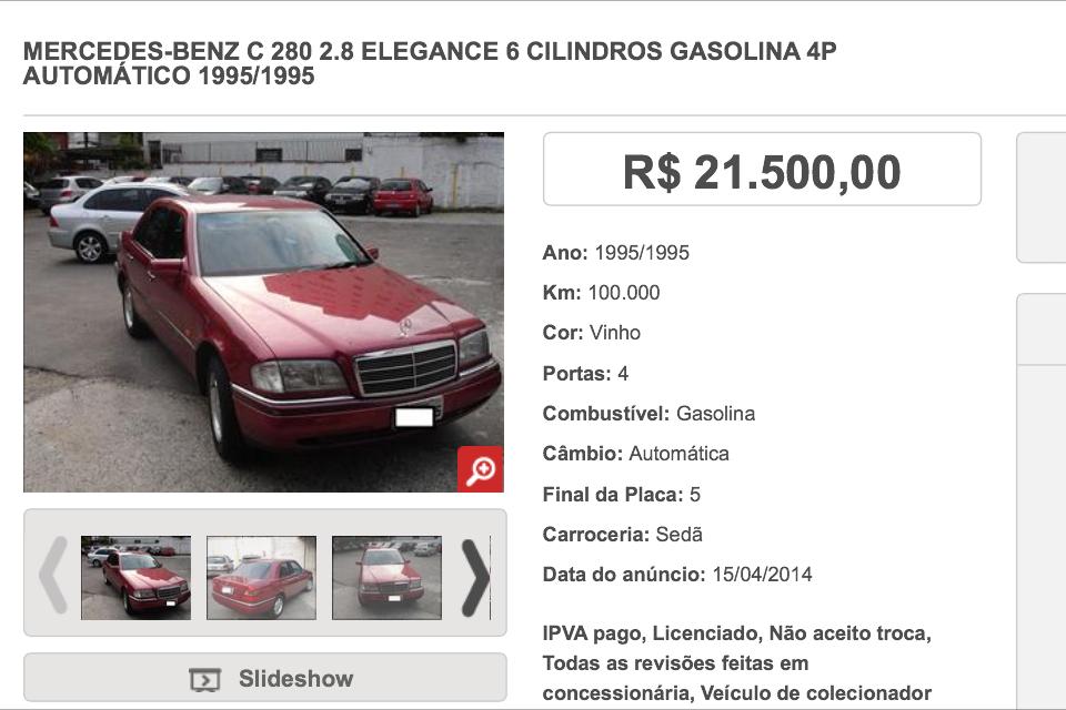 W202 C280 1995 - R$ 22.000,00 27403CF7-D312-4CF0-A960-D871354AC9F8_zps1cdjlkqm