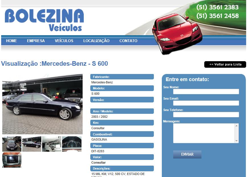W220 S600 2002/2003 - R$ 159.000,00 Bolezinas600_zps59e3c006