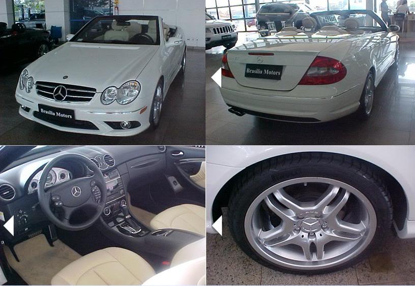 A209 CLK550 Cabriolet 2008/2008 - R$ 220.000,00 (VENDIDO) Clk5502