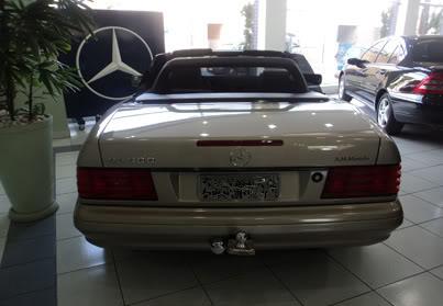 SL500 R129 1997 - R$ 110.000  G95