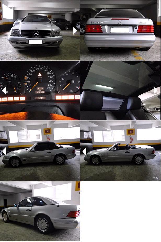 SL320 R129 1997 - 115.000 reais Sl320wb2