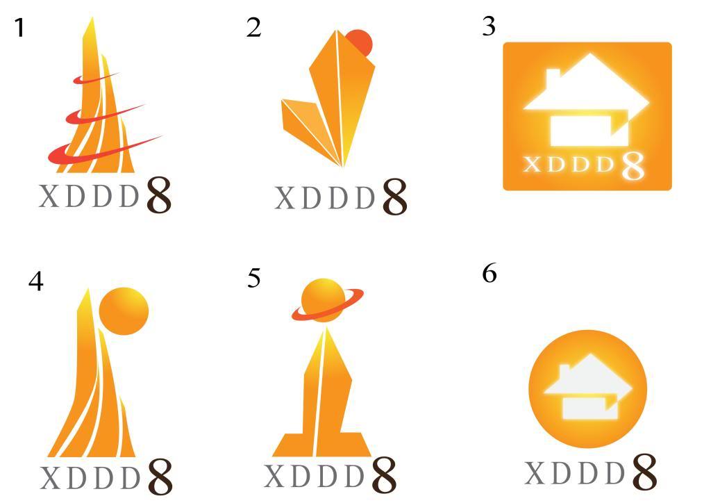 Các mẫu logo mẫu XDDD_01