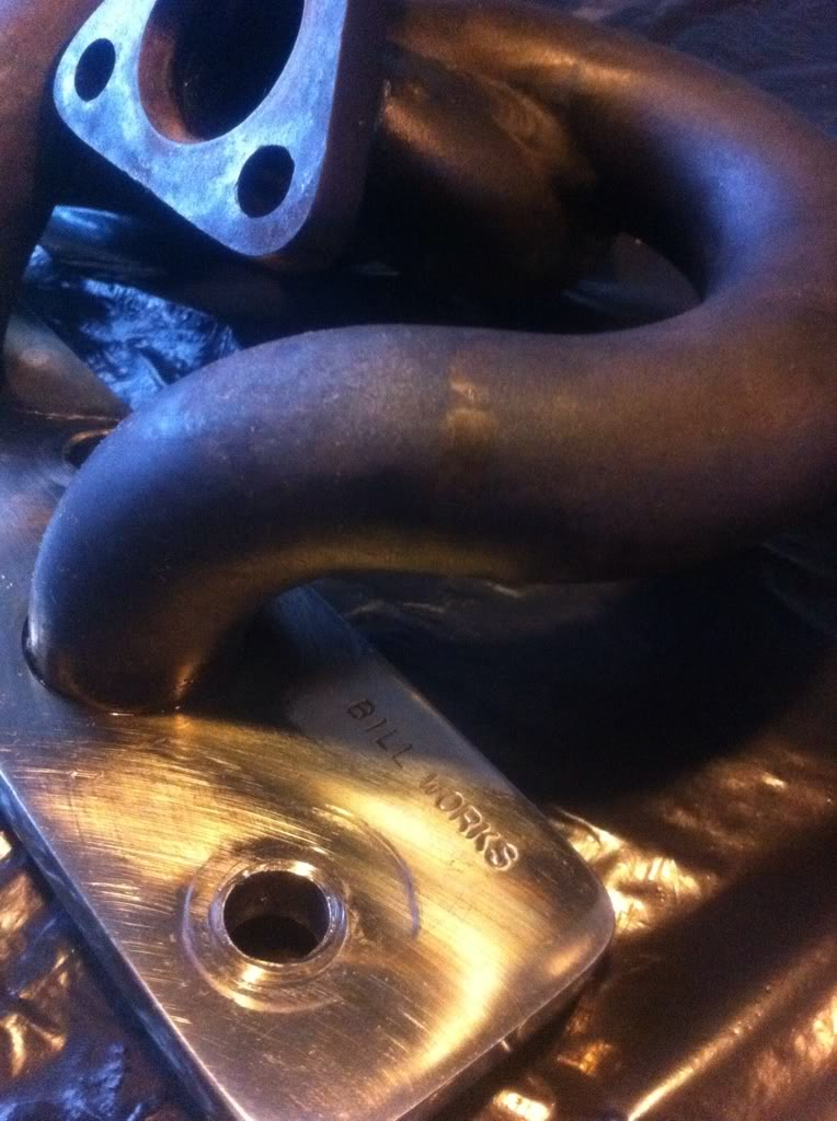 Suzuki Sport turbo + Bill Works manifold Ade4855d