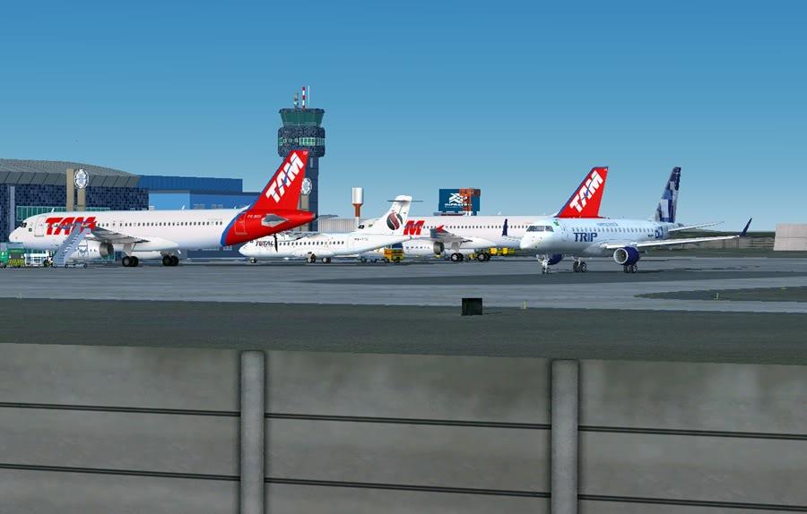 Diversas A340-500 - ERJ 175 - 777 10