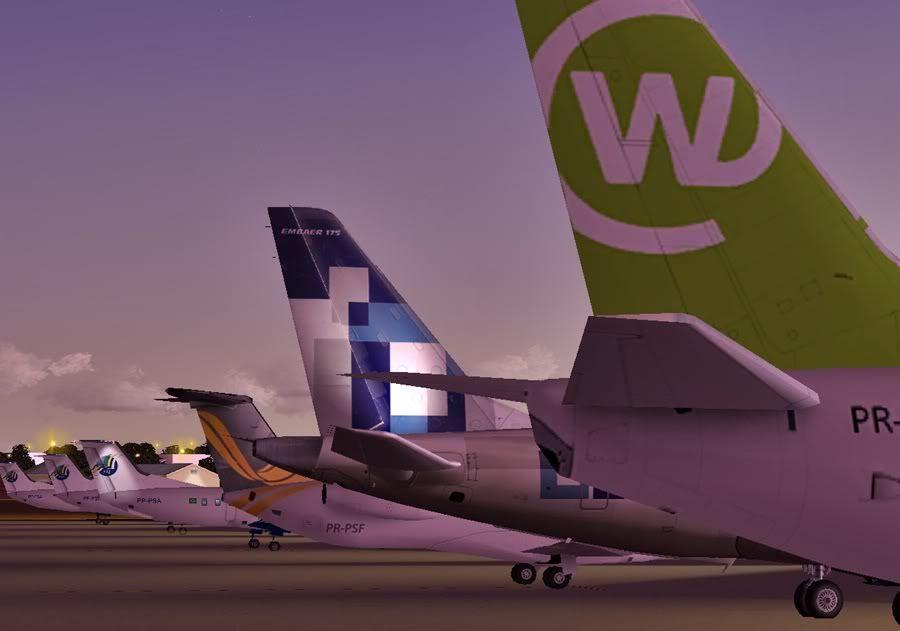 Diversas A340-500 - ERJ 175 - 777 35