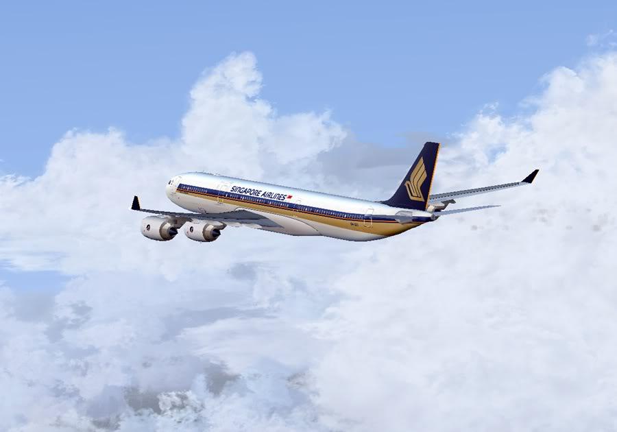 Diversas A340-500 - ERJ 175 - 777 40