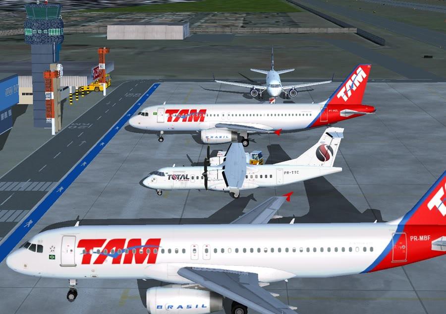 Diversas A340-500 - ERJ 175 - 777 5
