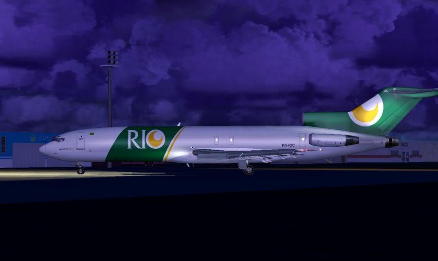 [FS2004] Foz do Iguaçu (SBFI) - Florianopolis (SBFL) 2