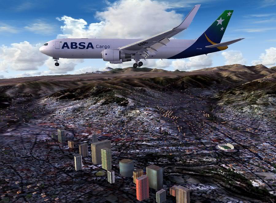 [FS2004] Buenos Aires (SAEZ) - La Paz (SLLP) 33