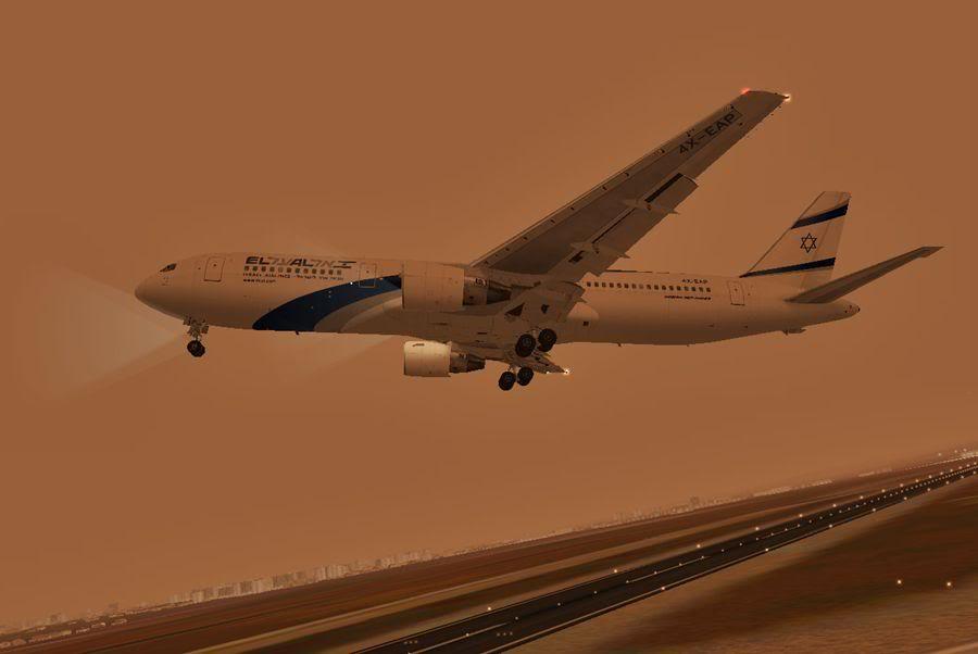 [FS2004] Tel Aviv (LLBG) - Hamburgo (EDDH) 9