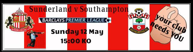 Arsenal v Wigan was SAFC v Southampton Redbansouthampton