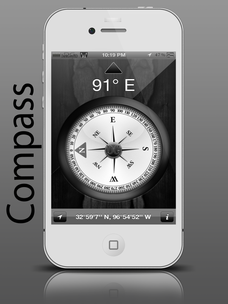 BETA RELEASE DarkGreyHD - by SEANSGRAPHICS Compass