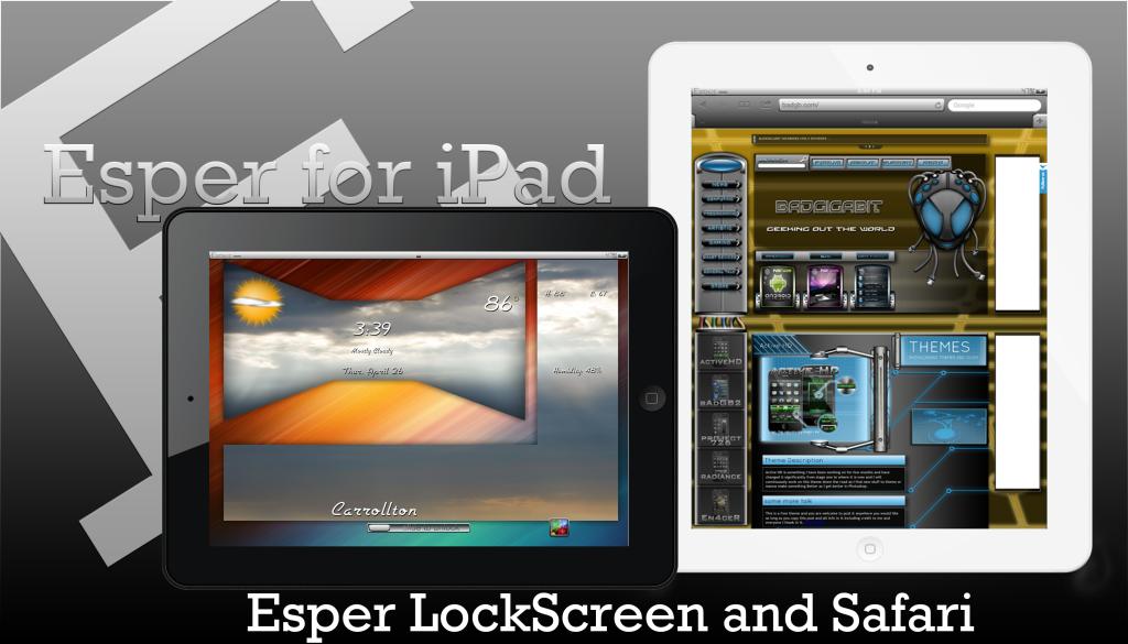 Esper Theme by SEANSGRAPHICS/bAdGB Gdf