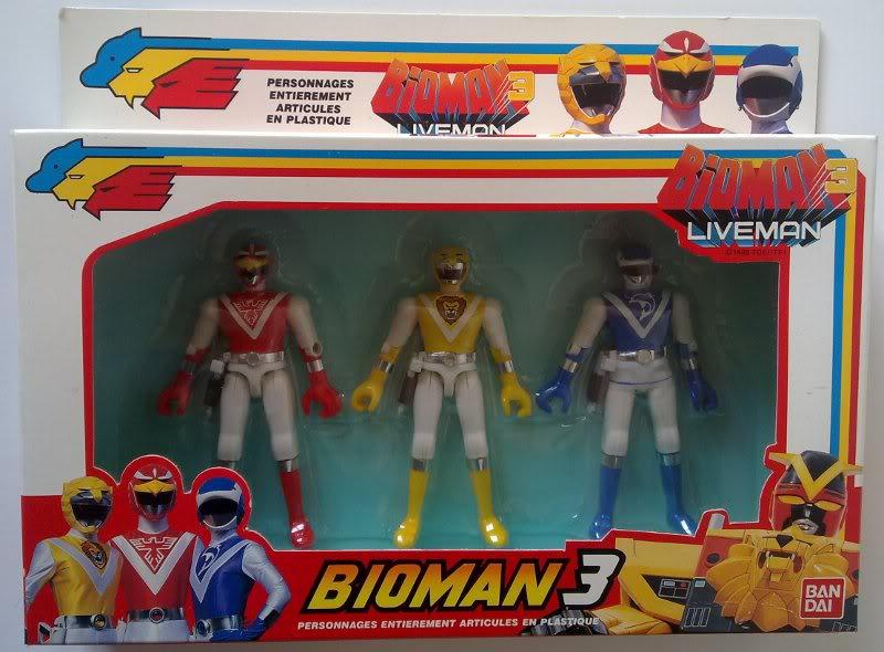 Bioman Livemanbandai Bioman Livemanbandai 1988 3 3 1988 LqSUzpVGM