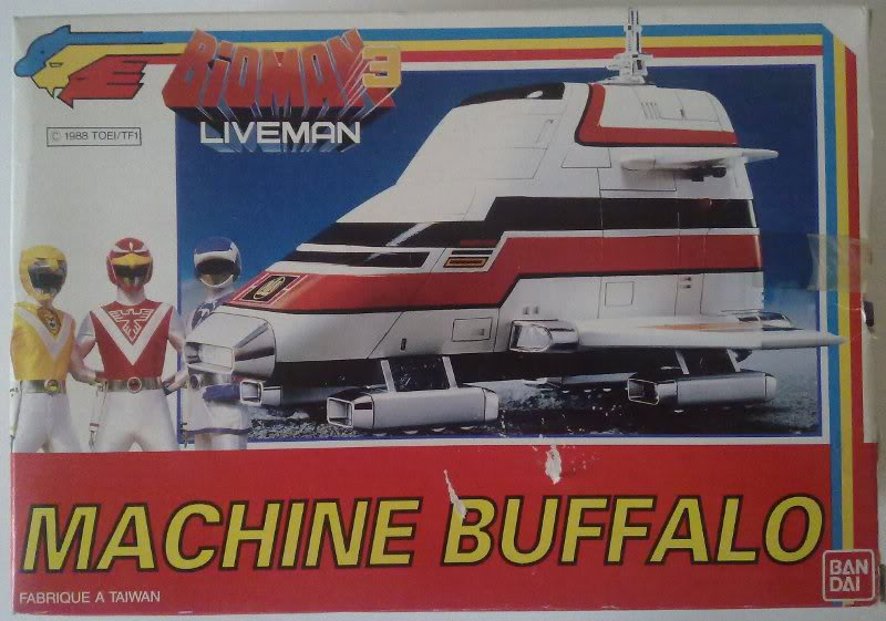 "Liveman (""Bioman 3"" en France) BuffaloST12bis"