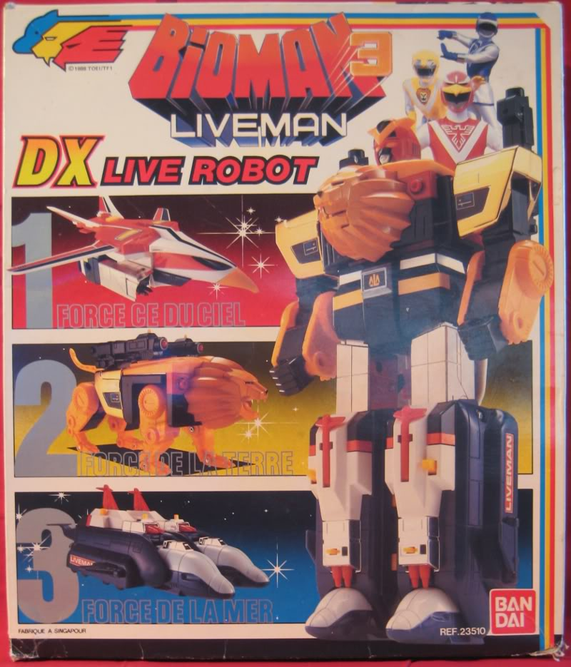 "Liveman (""Bioman 3"" en France) Liverobo01"
