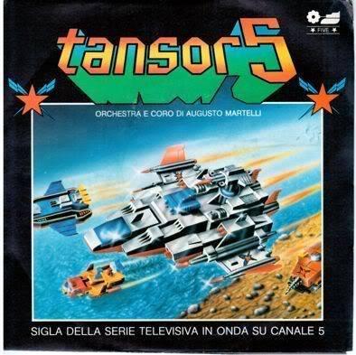 Tansor 5 / Kagaku Boukentai Tansar 5 VinyleTansor5
