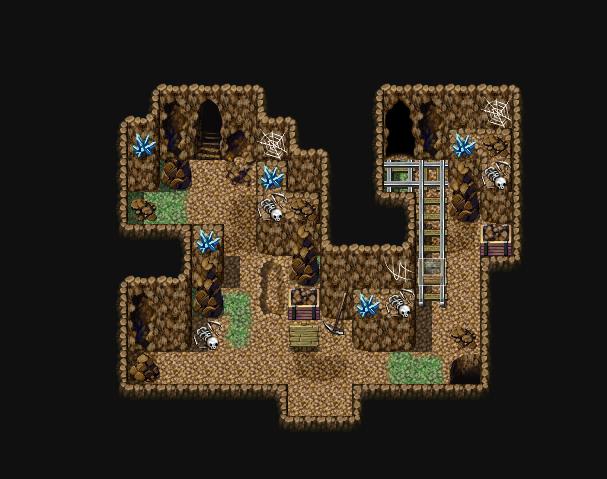[Mapeo/VXACE]Lo básico de una caverna 3-5