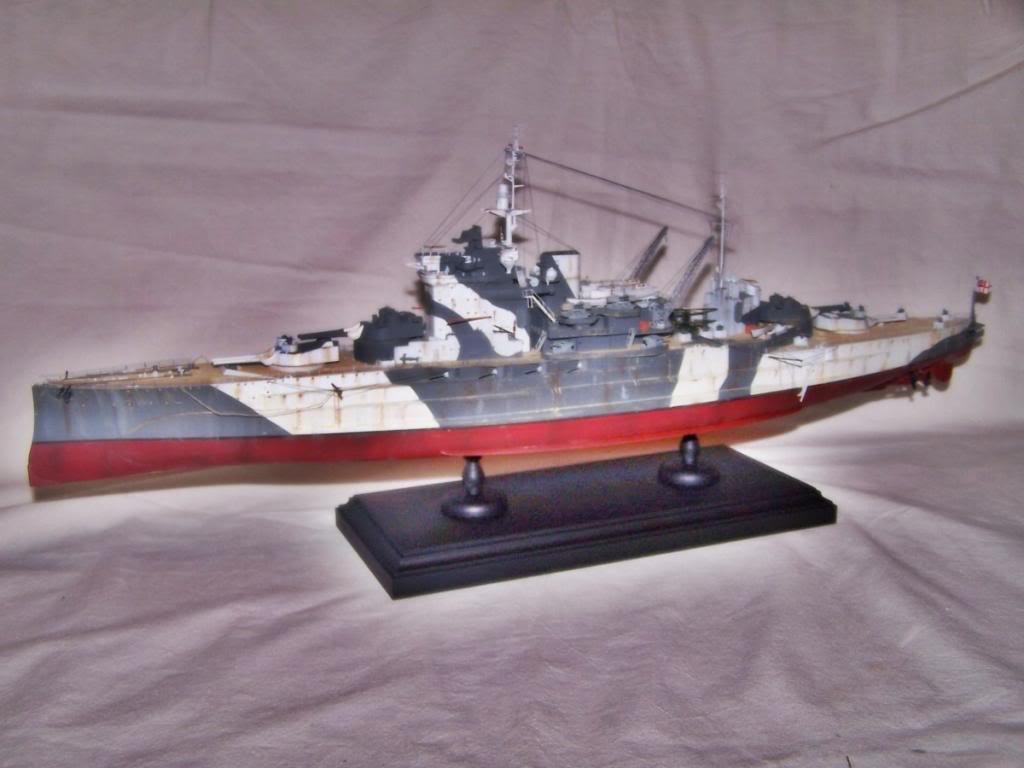 HMS WARSPITE 1/350 ACADEMY 100_1748