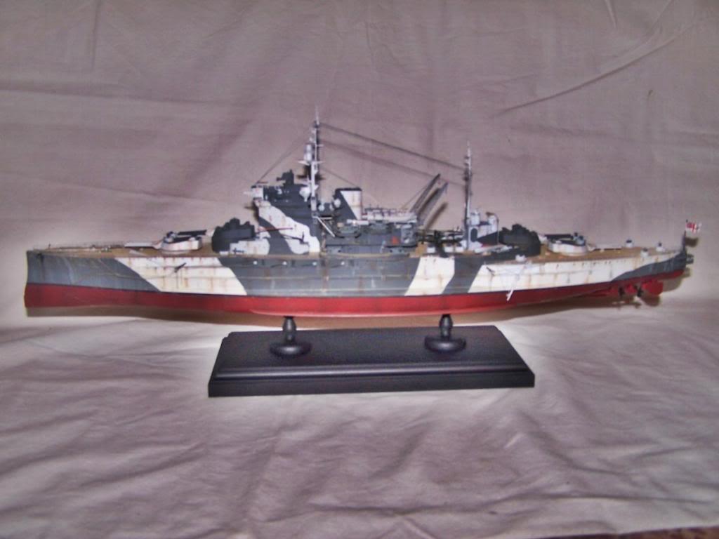 HMS WARSPITE 1/350 ACADEMY 100_1754