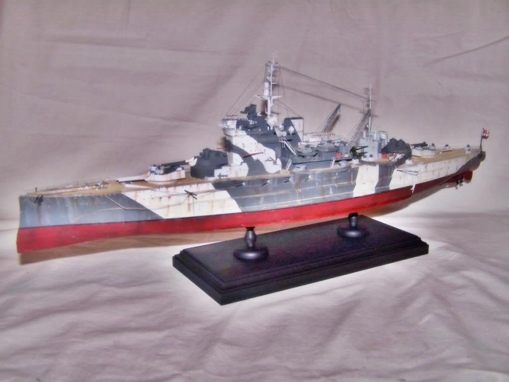 HMS WARSPITE 1/350 ACADEMY 100_1755