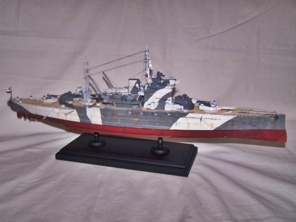 HMS WARSPITE 1/350 ACADEMY 100_1756