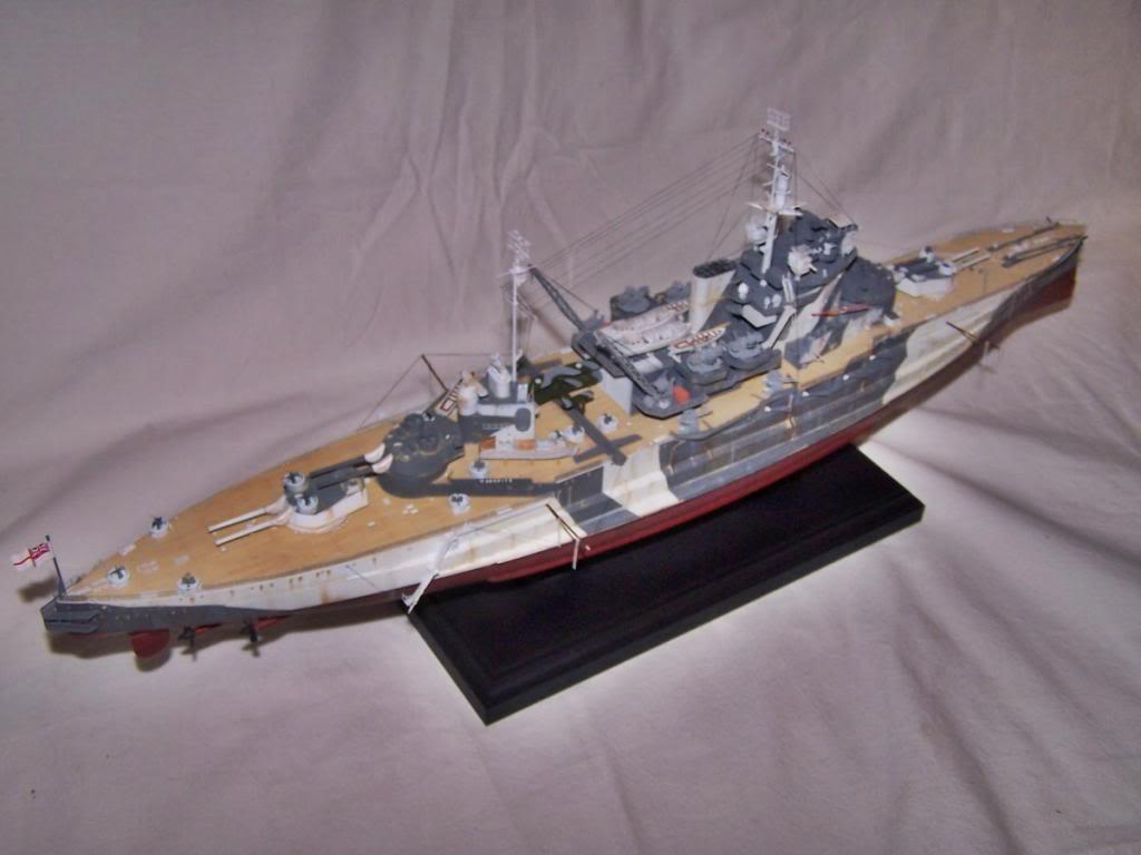 HMS WARSPITE 1/350 ACADEMY 100_1761