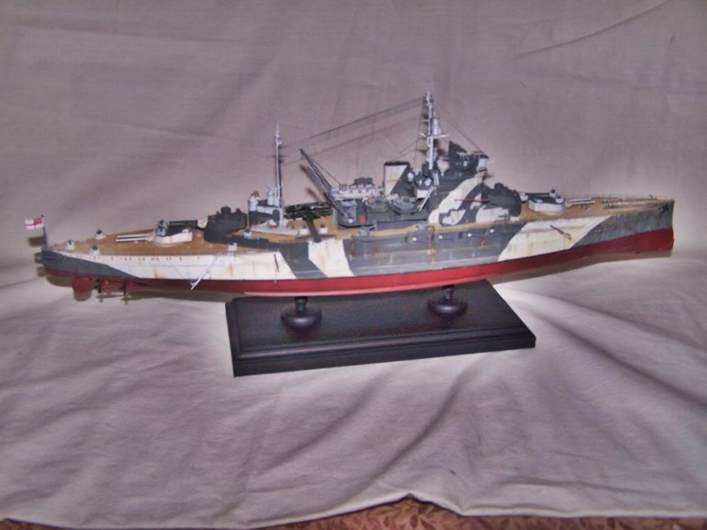 HMS WARSPITE 1/350 ACADEMY 100_1762