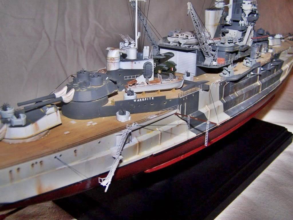 HMS WARSPITE 1/350 ACADEMY 100_1763