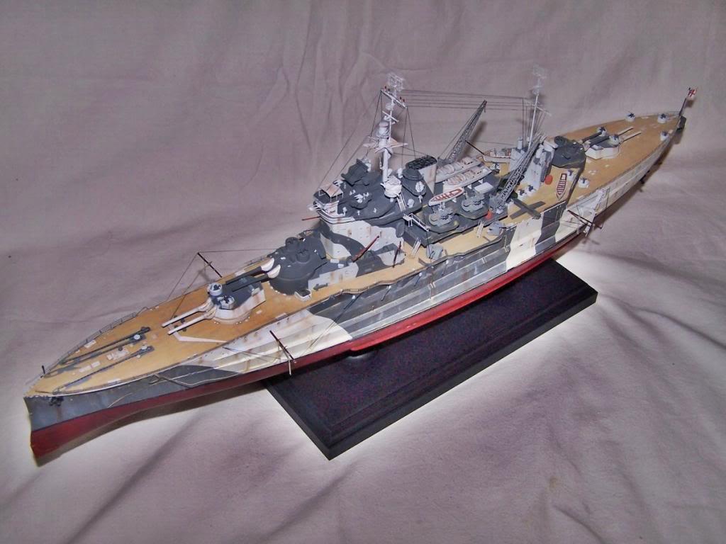 HMS WARSPITE 1/350 ACADEMY 100_1766
