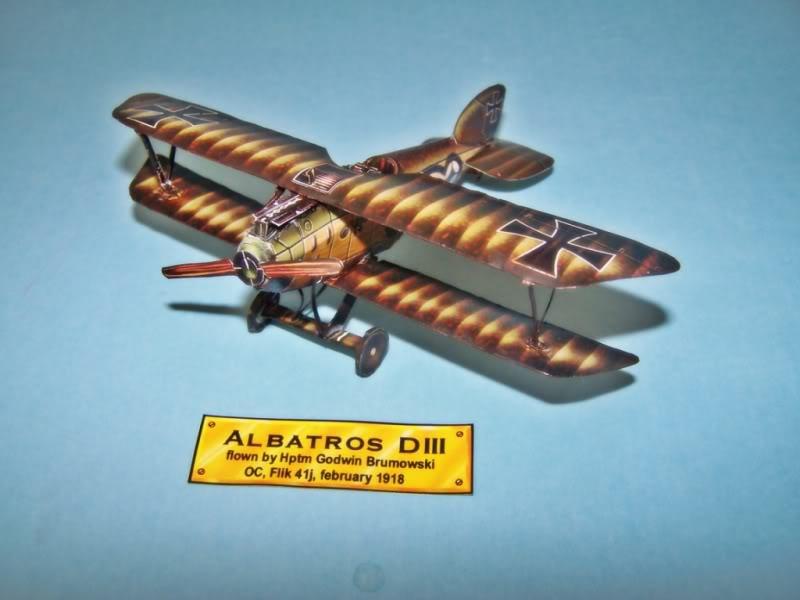 Albatros DIII En papel 100_8489