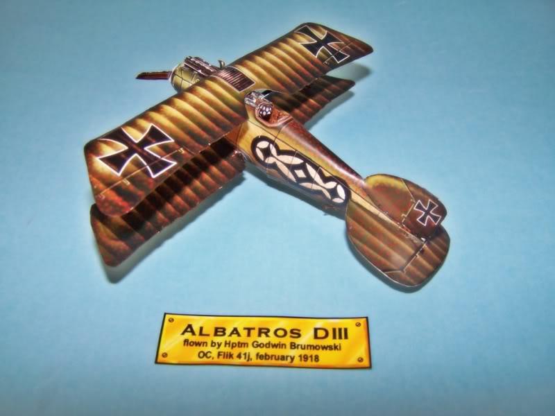 Albatros DIII En papel 100_8490