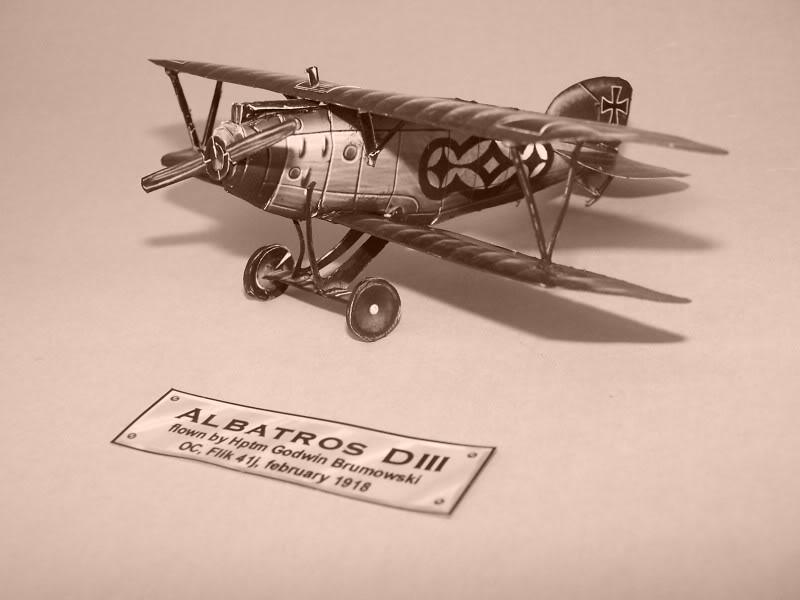 Albatros DIII En papel 100_8498