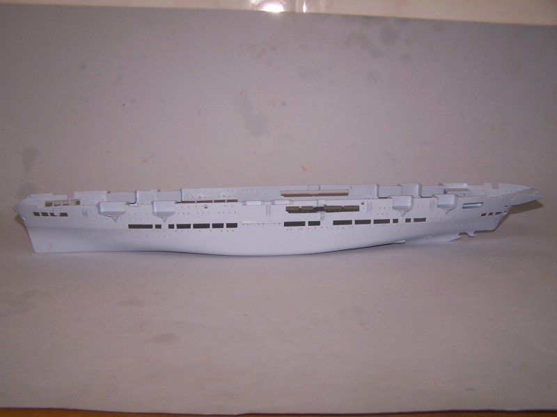 HMS ARK ROYAL 1/600 AIRFIX 100_9814