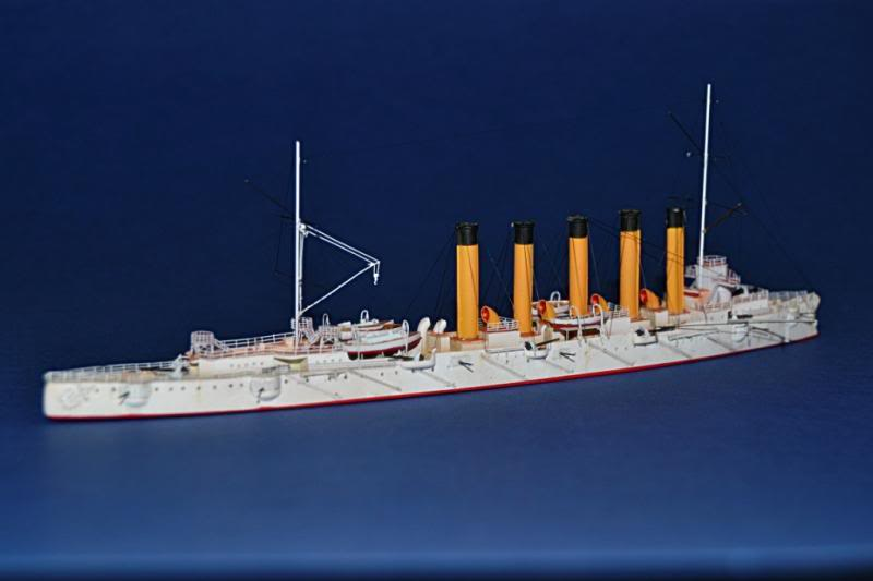 CRUCERO RUSO ASKOLD 1900 WHITE ENSIGN MODEL 1/700  DSC_0026