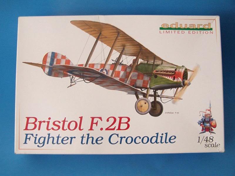 Bristol f.2b intento de scratch eduard 1/48 100_2681