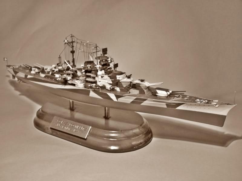 Acorazado Tirpitz 1/700 TIRPITZBYN