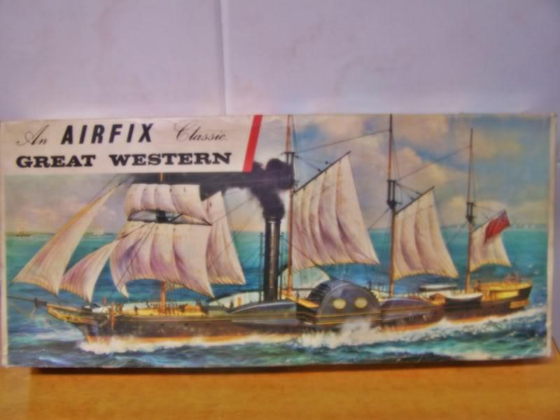 SS Great Western,airfix.escalA 1/180 100_8656
