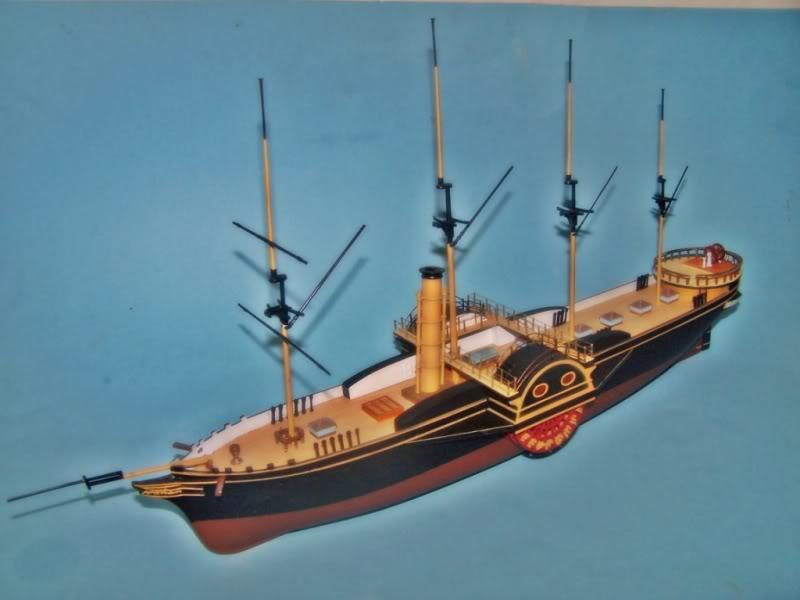 SS Great Western,airfix.escalA 1/180 100_8723