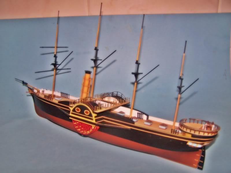 SS Great Western,airfix.escalA 1/180 100_8724